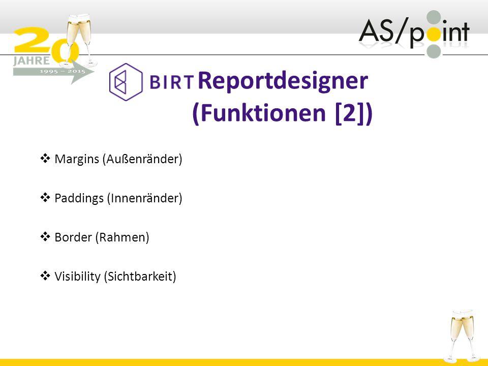 Reportdesigner (Funktionen [2])